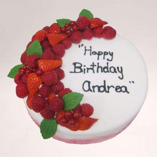 Afbeelding van Roodfruit taart