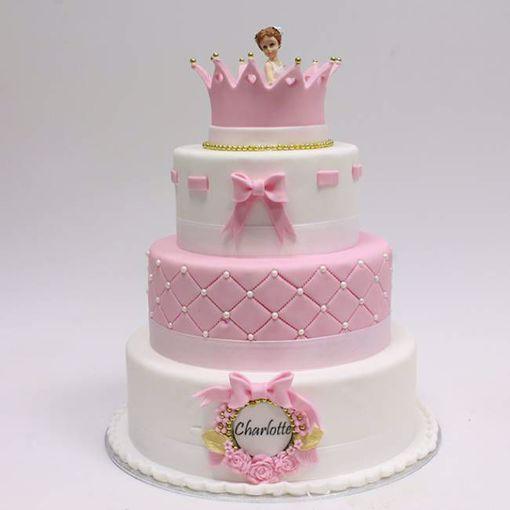 Afbeelding van Pink dreams taart