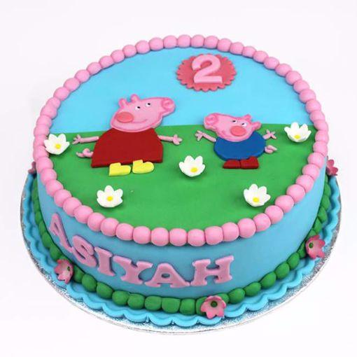 Afbeelding van Peppa pig taart