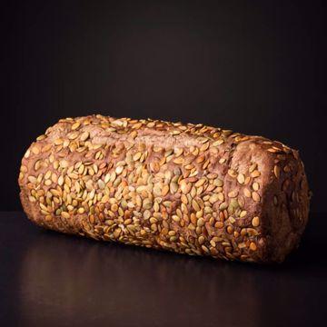Afbeeldingen van Pompoenpitbrood
