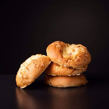 Afbeeldingen van Kaas uien broodje