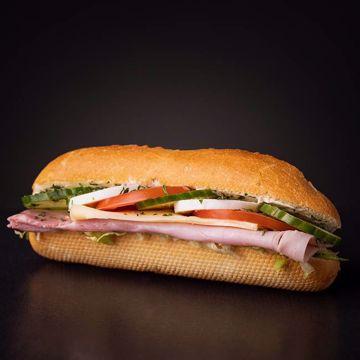 Afbeeldingen van Panino gezond ham-kaas