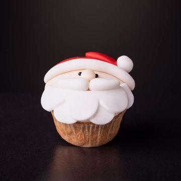 Afbeeldingen van Kerst muffin kerstman