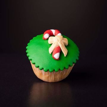 Afbeeldingen van Kerst muffin zuurstok