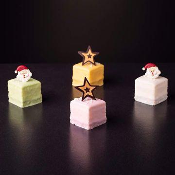 Afbeeldingen van Kerst petit four