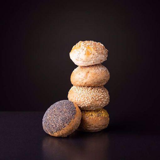 Afbeelding van 10 minibollen gesorteerd tarwe