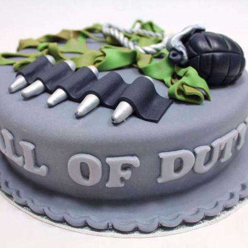 Afbeelding van Call of Duty taart