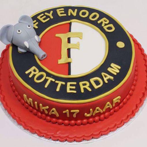 Afbeelding van Feyenoord taart