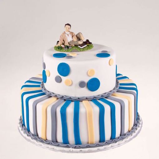 Afbeelding van Streepjes taart