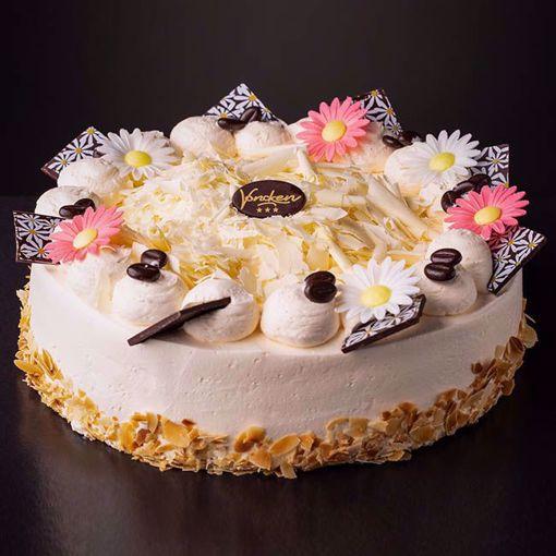 Afbeelding van Vanille creme taart