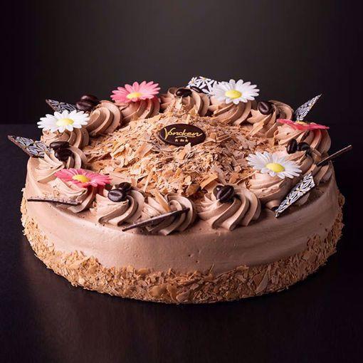 Afbeelding van Choco cremetaart groot
