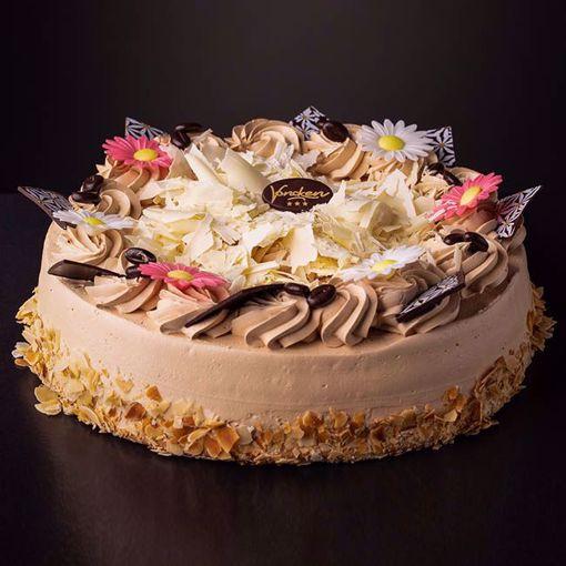 Afbeelding van Mocca creme taart