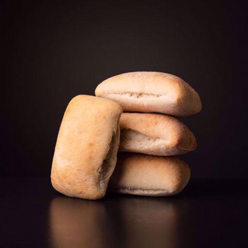 Afbeelding van 10 x halfafgebakken ciabatta broodjes