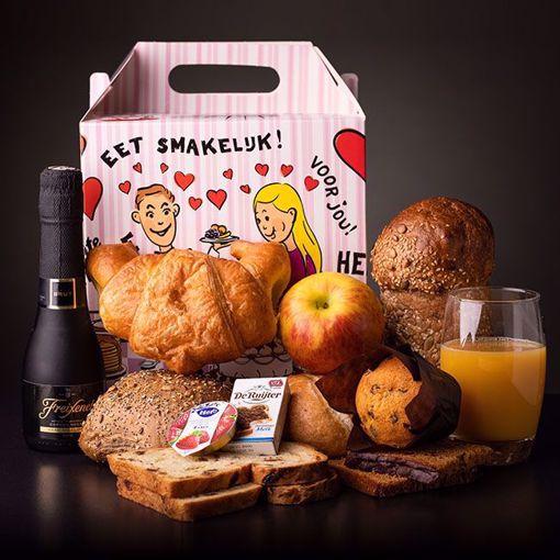 Afbeelding van 1 persoons champagne ontbijt (thuisbezorgd)