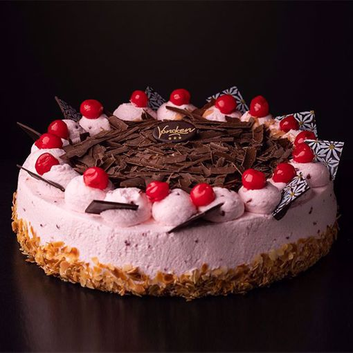 Afbeelding van Kersen bavaroise taart