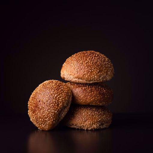 Afbeelding van 6 x sesam broodje tarwe (per 6 verpakt)