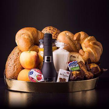 Afbeeldingen van Champagne ontbijt pakket (thuisbezorgd)