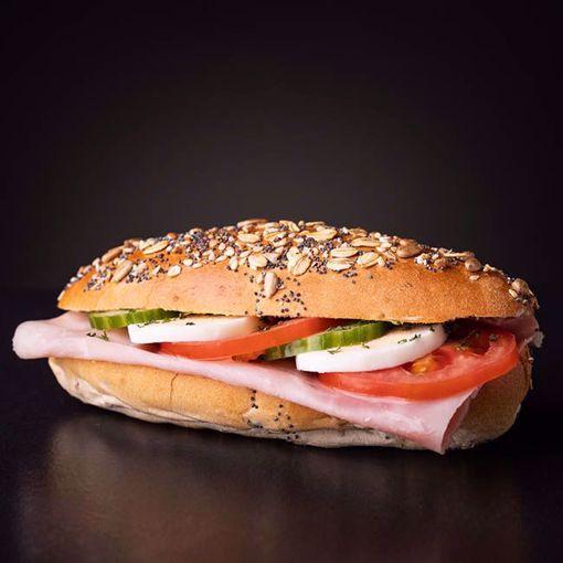 Afbeelding van Belegd broodje gezond ham