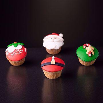 Afbeeldingen van Kerst muffins assorti