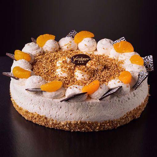 Afbeelding van Hazelnoot bavaroise taart
