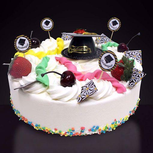 Afbeelding van Geslaagde taart hoedje