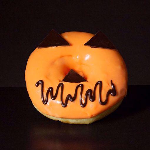 Afbeelding van Halloween donut (Spook)