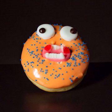 Afbeeldingen van Halloween donut (Griezel)