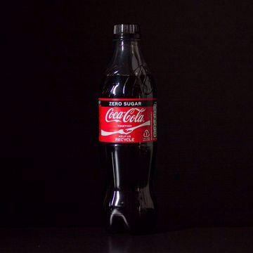 Afbeeldingen van Flesje Coca Cola Zero
