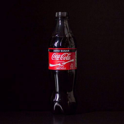 Afbeelding van Flesje Coca Cola Zero