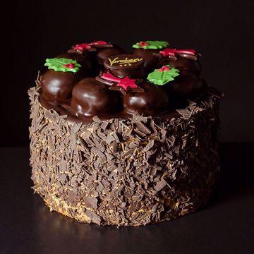 Afbeeldingen van Chocobombe taart