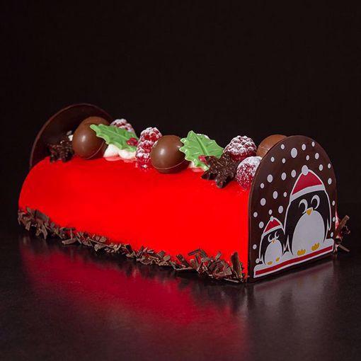 Afbeelding van Kerst frambozen stammetje