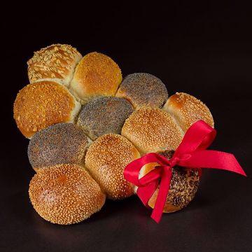 Afbeeldingen van Kerst partybrood