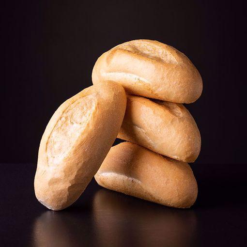 Afbeelding van 6 half afgebakken broodjes