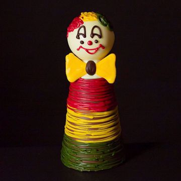 Afbeeldingen van Chocolade clown bol hoofd