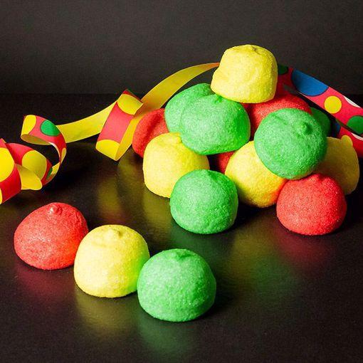 Afbeelding van Carnavals Gekleurde spekken