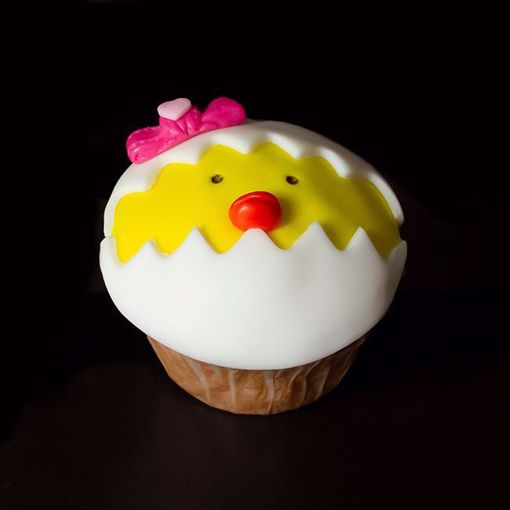 Afbeelding van Paasmuffin geel (kuiken)