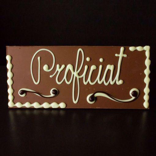 """Afbeelding van Choco tablet """"Proficiat"""""""