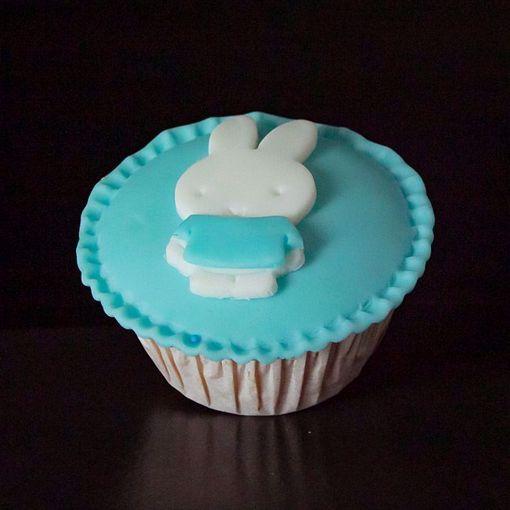 Afbeelding van Muffin nijntje blauw