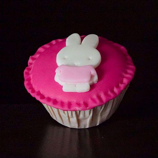 Afbeelding van Muffin nijntje roze