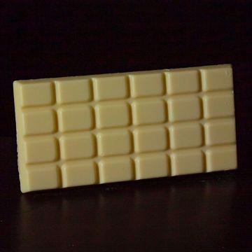 Afbeeldingen van Grote Chocoladereep Wit
