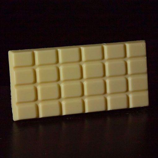 Afbeelding van Grote Chocoladereep Wit