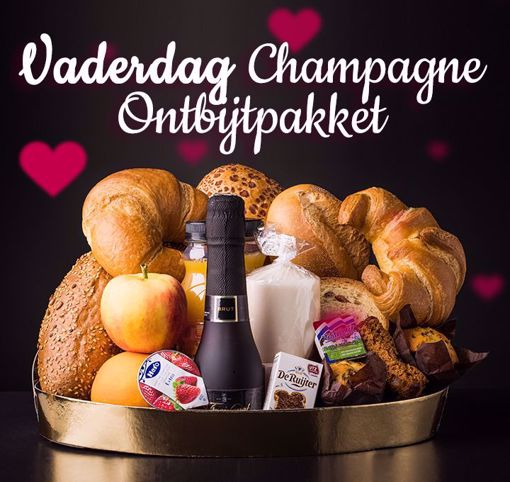 Afbeelding van Vaderdag champagne ontbijt pakket