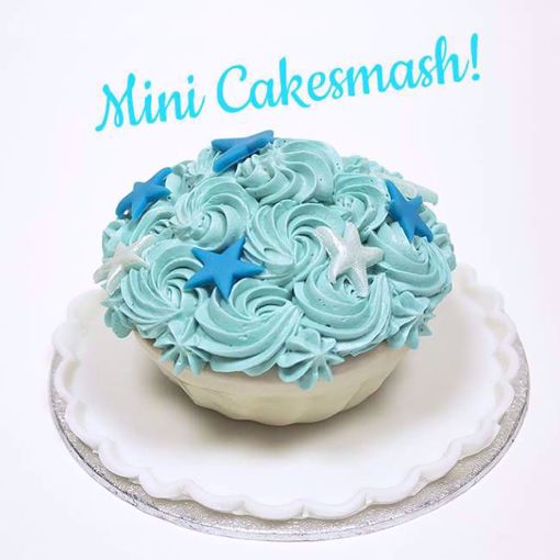 Afbeelding van Mini cake smash blauw