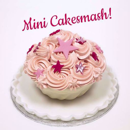 Afbeelding van Mini cake smash roze