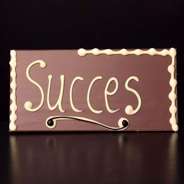 """Afbeeldingen van Choco tablet """"Succes"""""""