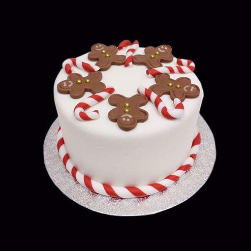 Afbeelding van Kersttaart kerst cookies