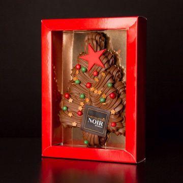 Afbeeldingen van Chocolade kerstboom