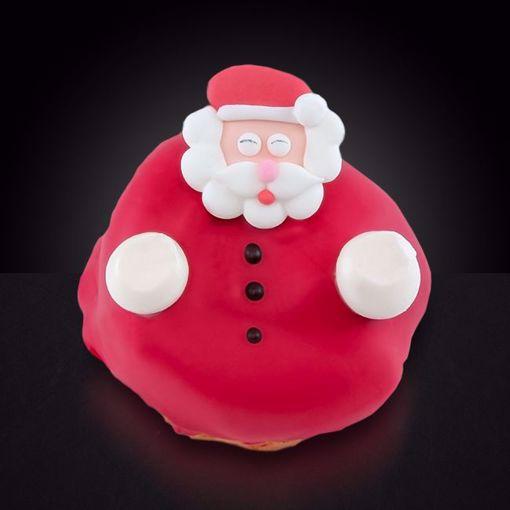 Afbeelding van Kerstman bol