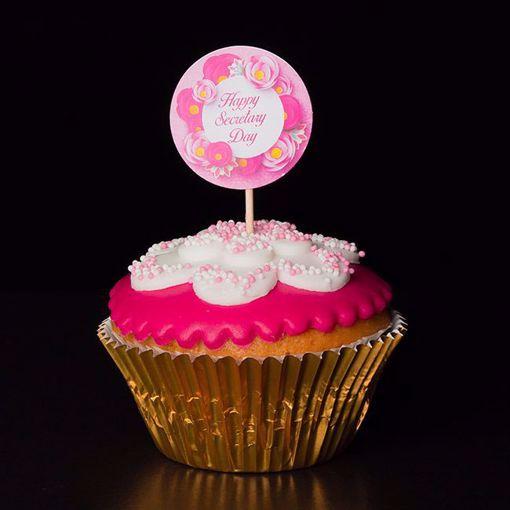 Afbeelding van Secretaresse dag cupcake