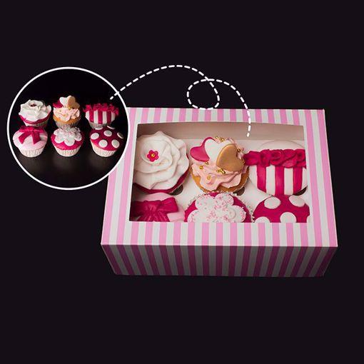 Afbeelding van Happy Cupcakebox 6